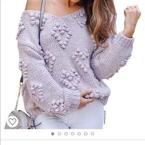 Chicwish heart sweater